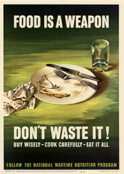 affiche food is a weapon